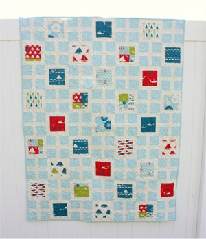 Square Knots Set Sail Quilt Kit for Easy Quilts Spring 2013