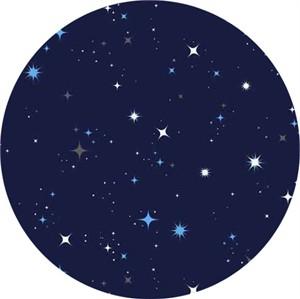 Makower UK, Galaxy, Stars Navy
