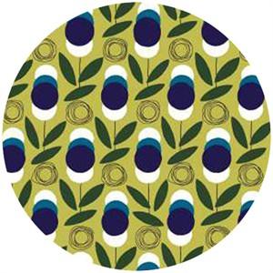Studio E, Atomic Garden, Magnetic Floral Olive