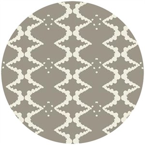 Studio E, Elizabeth, Ink Blot Lattice Gray