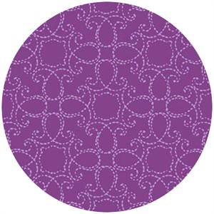 Studio E, Elizabeth, Stitch Medallion Purple