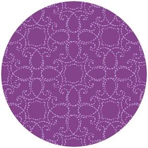 Studio E, Elizabeth, Stitch Medallion Purple