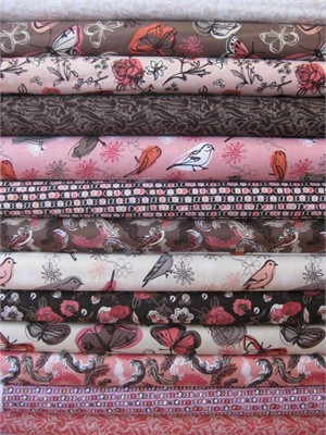 Studio E, Flights Of Fancy, Entire Collection in FAT QUARTERS 12 Total