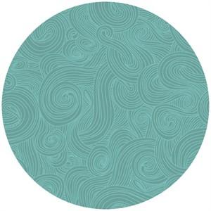Studio E, Modern Age, Swirls Turquoise