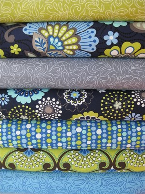 Windham Fabrics,  Moonstruck in FAT QUARTERS 8 Total