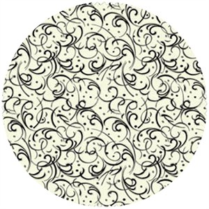 Studio E, Scrollwork, Scroll Swirls Ivory