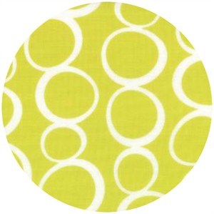 Studio M for Moda, Mixed Bag, FLANNEL, Bubbles Lime