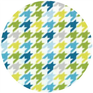 Studio M for Moda, Mixed Bag, Houndstooth Sweet Pea