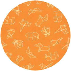 Studio M for Moda, Mixed Bag, Origami Orange