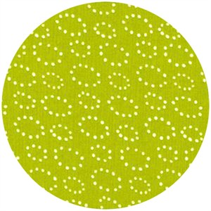 Stof, Pure, Dotted Rings Lime