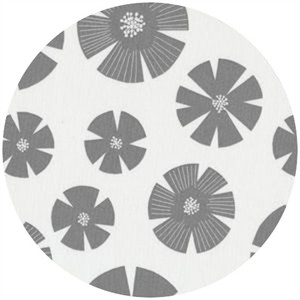 Stof, Pure, Flower Fans Gray