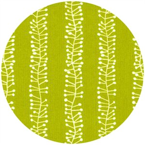 Stof, Pure, Stamen Stripe Lime