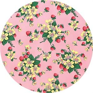 Verna Mosquera for Free Spirit, Fruta Y Flor, Strawberry Bouquet Rose