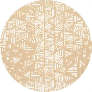 Hoffman Fabrics, Indah BATIKS, Stripey Triangles Parchment