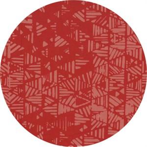 Hoffman Fabrics, Indah BATIKS, Stripey Triangles Rosewood