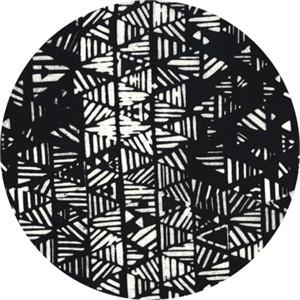Hoffman Fabrics, Indah BATIKS, Stripey Triangles Zebra