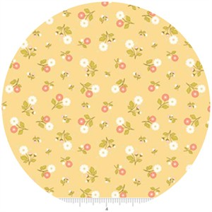 Stitch Studios, Marguerite, Calico Yellow