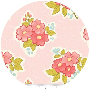 Stitch Studios, Marguerite, Floral Pink