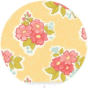 Stitch Studios, Marguerite, Floral Yellow