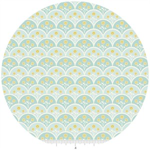 Stitch Studios, Marguerite, Scallops Blue