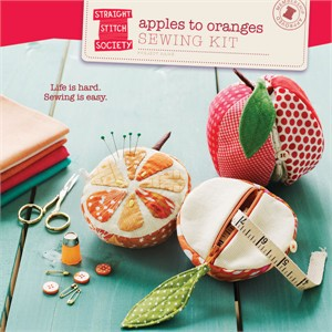 Straight Stitch Society Sewing Pattern, Apples to Oranges