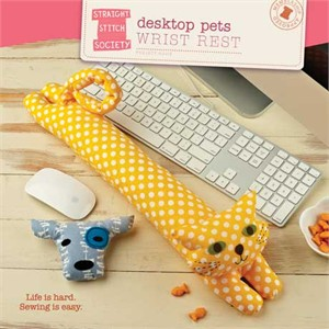Straight Stitch Society Sewing Pattern, Wrist Rest