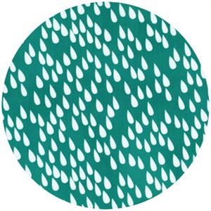 Stof, Uno, Raindrops Turquoise
