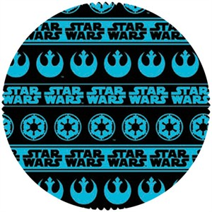 Star Wars Fabric, Star Wars II, Shield Stripe Blue