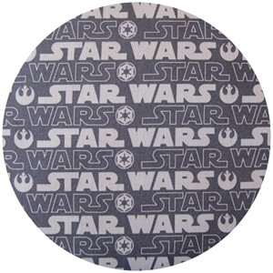 Star Wars Fabric, Titles Grey