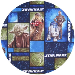 Star Wars Fabric, Windows Blue