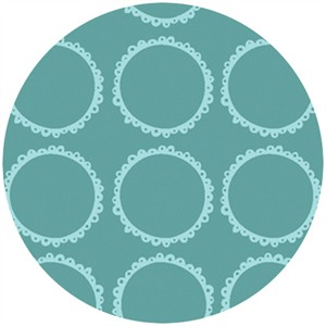 Susan Lawrence for Anthology Fabrics, Crazy Races, Racing Rings Blue