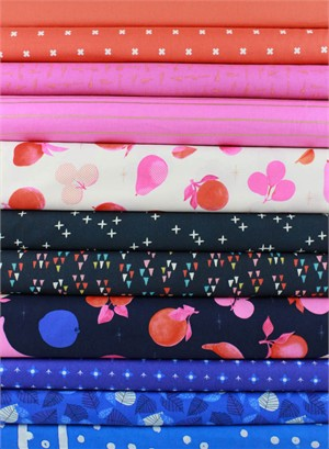 Fabricworm Custom Bundle, Summer Loving in FAT QUARTERS 11 Total (PRECUT)