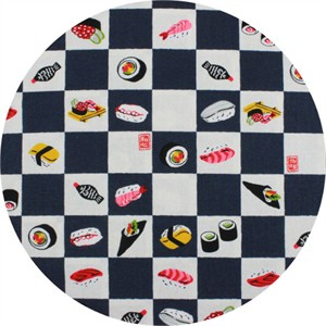 Japanese Import, Sushi Checkers Black/White
