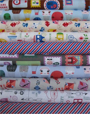 Suzy Ultman, Handle With Care, Entire Collection in FAT QUARTERS 10 Total