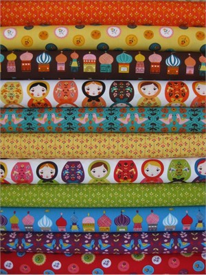 Suzy Ultman, Little Kukla in FAT QUARTERS, 9 Total