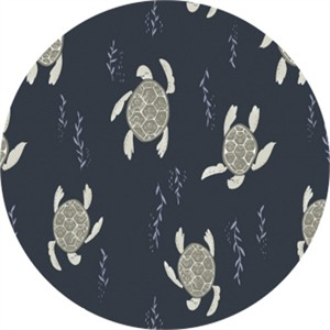 Rae Ritchie for Dear Stella, Into the Reef, Swimming Turtles Navy
