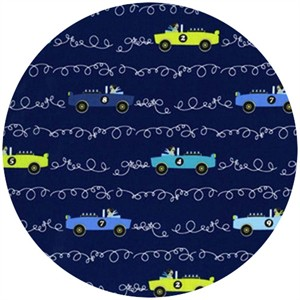 Tamara Kate, Les Monsieurs, Scribble Cars Navy