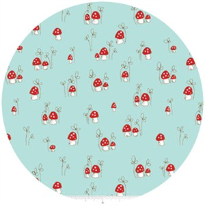 Tasha Noel, Little Red Riding Hood, Mushrooms Aqua
