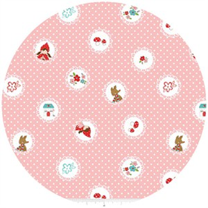 Tasha Noel, Little Red Riding Hood, Scallops Pink