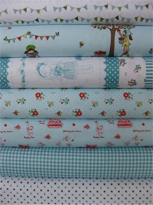 Tasha Noel, Simple Life, Aqua in FAT QUARTERS 7 Total