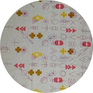 Alison Glass, Adorn TAILORED CLOTH, Symbolic Warm Border Print