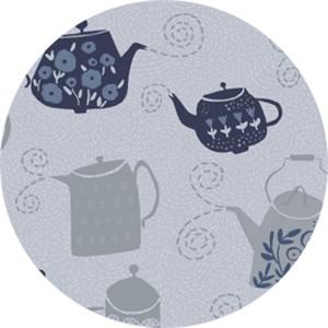 Rae Ritchie for Dear Stella, Tea Party, Tea Pots Steam