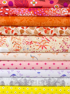 Lizzy House for Andover, The Lovely Hunt, Faerie in FAT QUARTERS 10 Total