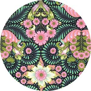Tula Pink for Free Spirit, Slow & Steady, The Tortoise Strawberry Kiwi