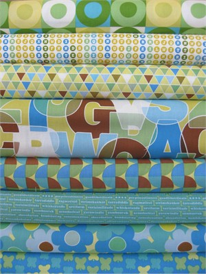 Thomas Knauer, Thesaurus, Blue in FAT QUARTERS 8 Total