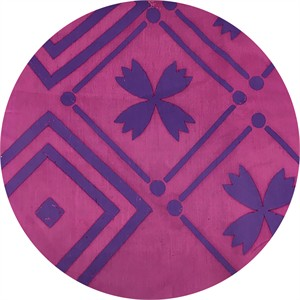 Alison Glass for Andover, Handcrafted Patchwork, Tile Foxglove