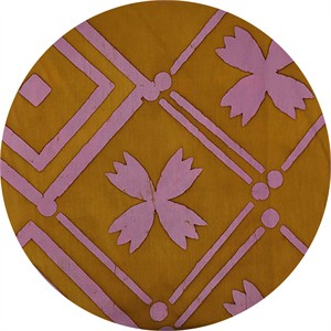 Alison Glass for Andover, Handcrafted Patchwork, Tile Goldenrod