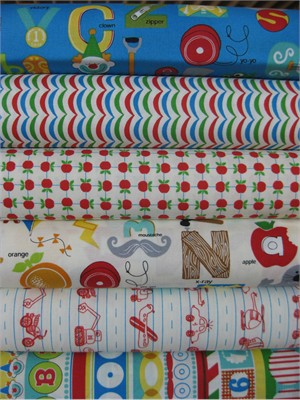 Tim and Beck, Apple Jack, Multi in FAT QUARTERS 5 Total
