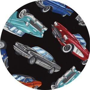 Timeless Treasures, Classic Cars Black