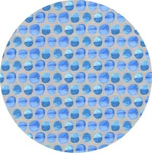 Laura Gunn for Michael Miller, Koi Garden, Tiny Droplet Blue